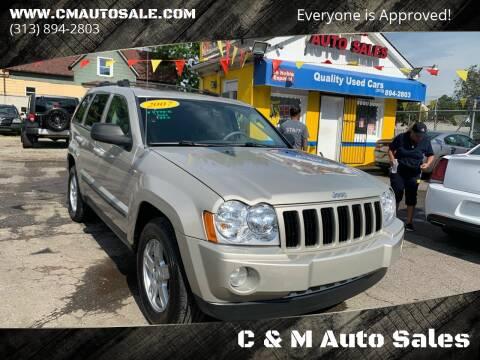 2007 Jeep Grand Cherokee for sale at C & M Auto Sales in Detroit MI