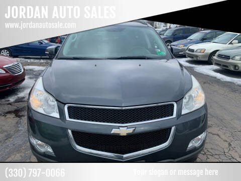 2010 Chevrolet Traverse for sale at JORDAN AUTO SALES in Youngstown OH