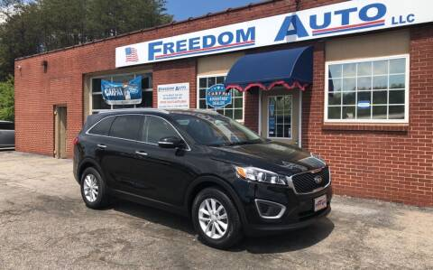 2016 Kia Sorento for sale at FREEDOM AUTO LLC in Wilkesboro NC