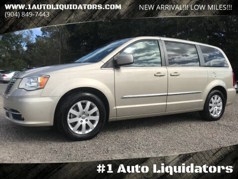 2016 Chrysler Town and Country for sale at #1 Auto Liquidators in Yulee FL