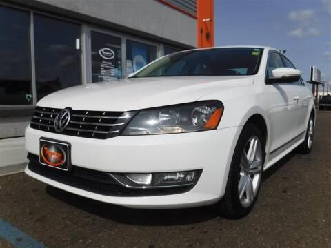 2013 Volkswagen Passat for sale at Torgerson Auto Center in Bismarck ND