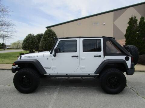 2013 Jeep Wrangler Unlimited for sale at JON DELLINGER AUTOMOTIVE in Springdale AR