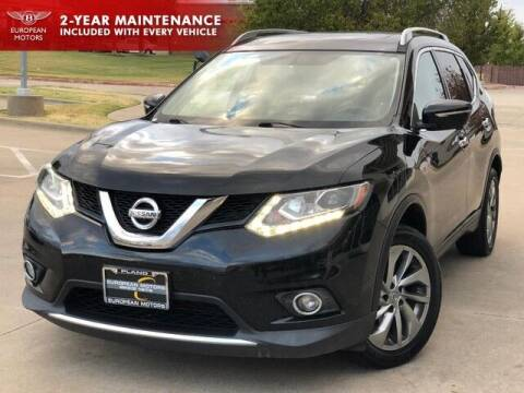 2015 Nissan Rogue for sale at European Motors Inc in Plano TX