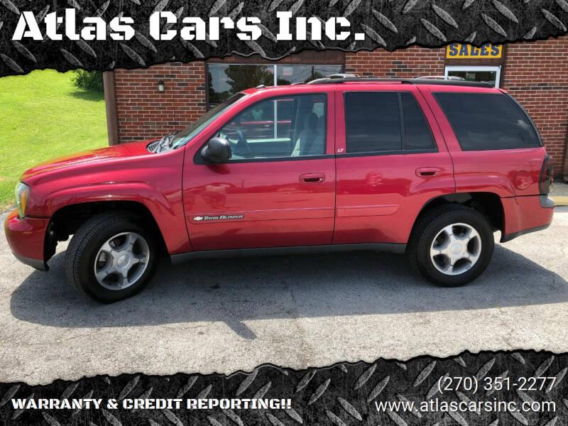 2004 Chevrolet TrailBlazer for sale at Atlas Cars Inc. - Radcliff Lot in Radcliff KY