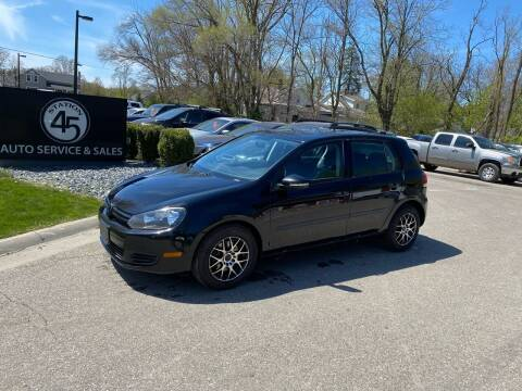 2011 Volkswagen Golf for sale at Station 45 Auto Sales Inc in Allendale MI
