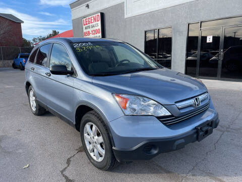 2008 Honda CR-V for sale at Legend Auto Sales in El Paso TX