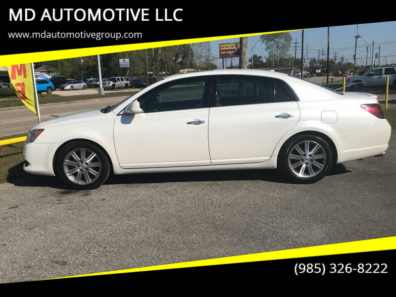 2009 Toyota Avalon for sale at MD AUTOMOTIVE LLC in Slidell LA