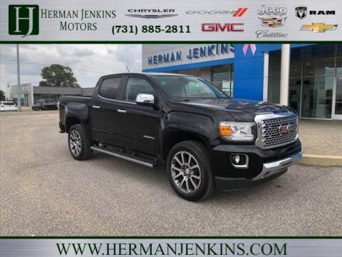 2019 GMC Canyon for sale at Herman Jenkins Used Cars in Union City TN