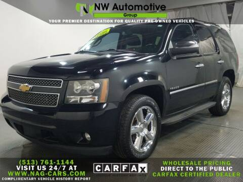 2013 Chevrolet Tahoe for sale at NW Automotive Group in Cincinnati OH