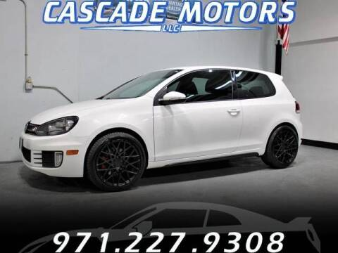 2012 Volkswagen GTI for sale at Cascade Motors in Portland OR