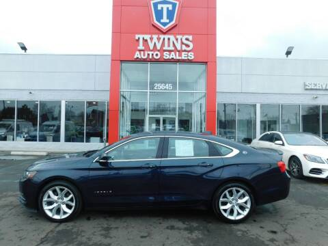 2017 Chevrolet Impala for sale at Twins Auto Sales Inc Redford 1 in Redford MI