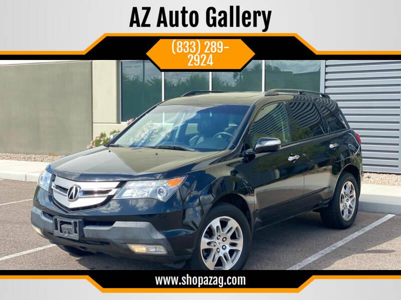 2009 Acura MDX for sale at AZ Auto Gallery in Mesa AZ