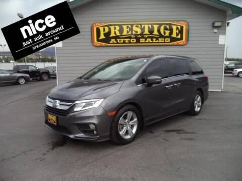 2019 Honda Odyssey for sale at PRESTIGE AUTO SALES in Spearfish SD
