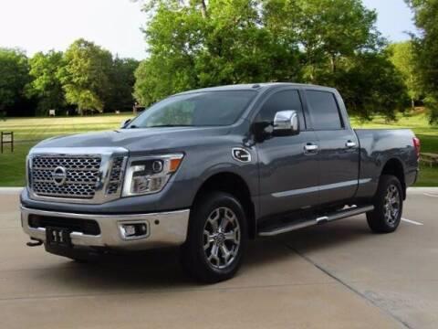 2017 Nissan Titan XD for sale at BIG STAR HYUNDAI in Houston TX