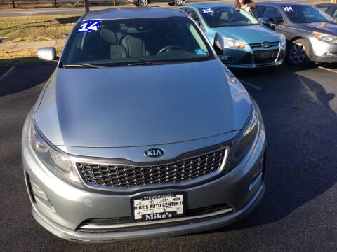 2014 Kia Optima Hybrid for sale at Mikes Auto Center INC. in Poughkeepsie NY