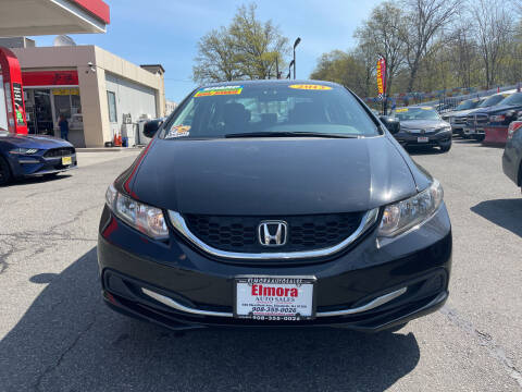 2013 Honda Civic for sale at Elmora Auto Sales in Elizabeth NJ