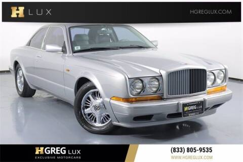 1996 Bentley Continental for sale at HGREG LUX EXCLUSIVE MOTORCARS in Pompano Beach FL