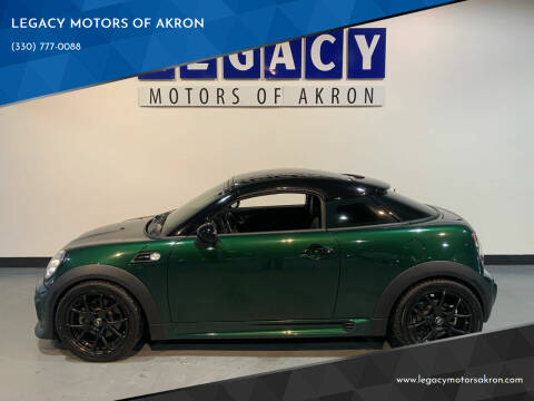2012 MINI Cooper Coupe for sale at LEGACY MOTORS OF AKRON in Akron OH
