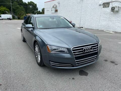 2014 Audi A8 for sale at Consumer Auto Credit in Tampa FL