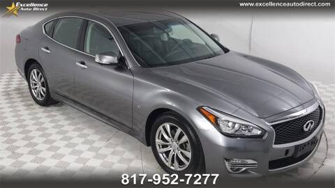 2018 Infiniti Q70 for sale at Excellence Auto Direct in Euless TX