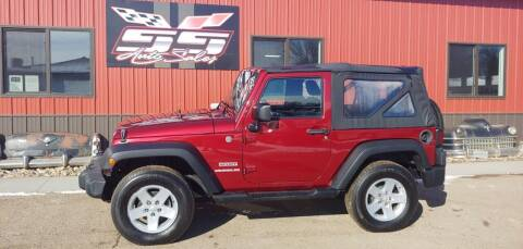 2013 Jeep Wrangler for sale at SS Auto Sales in Brookings SD