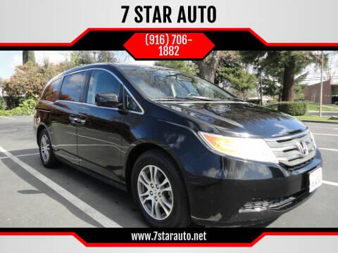 2011 Honda Odyssey for sale at 7 STAR AUTO in Sacramento CA