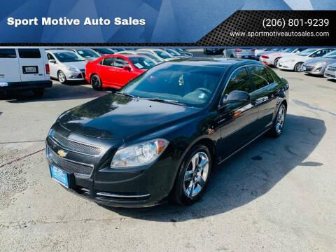 2009 Chevrolet Malibu for sale at Sport Motive Auto Sales in Seattle WA
