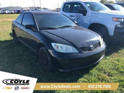 2004 Honda Civic for sale at COYLE GM - COYLE NISSAN - New Inventory in Clarksville IN