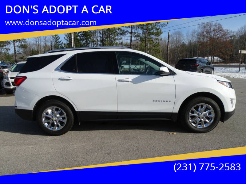 2018 Chevrolet Equinox for sale at DON'S ADOPT A CAR in Cadillac MI