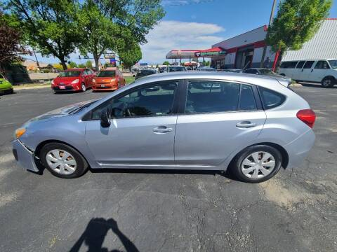 2012 Subaru Impreza for sale at Silverline Auto Boise in Meridian ID