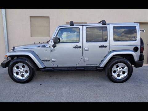 2015 Jeep Wrangler Unlimited for sale at Selective Motor Cars in Miami FL