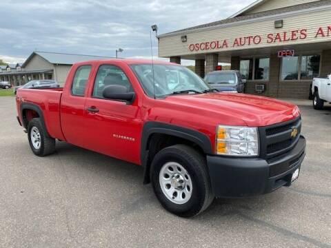 2013 Chevrolet Silverado 1500 for sale at Osceola Auto Sales and Service in Osceola WI