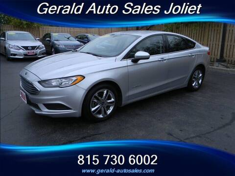 2018 Ford Fusion Hybrid for sale at Gerald Auto Sales in Joliet IL