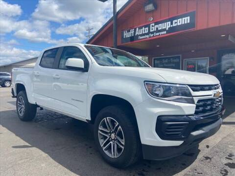 2021 Chevrolet Colorado for sale at HUFF AUTO GROUP in Jackson MI