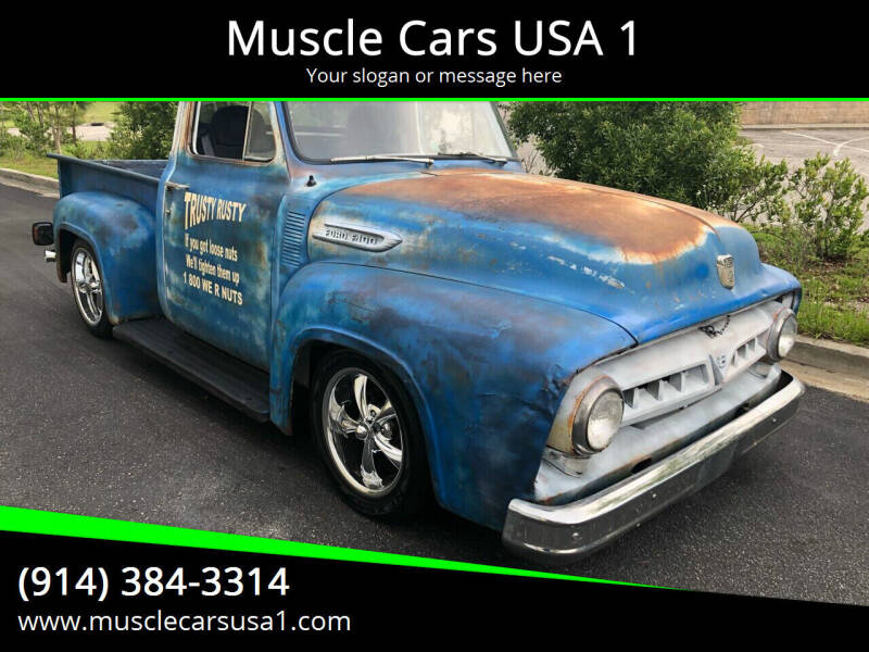 1953 Ford F-100 for sale at Muscle Cars USA 1 in Murrells Inlet SC