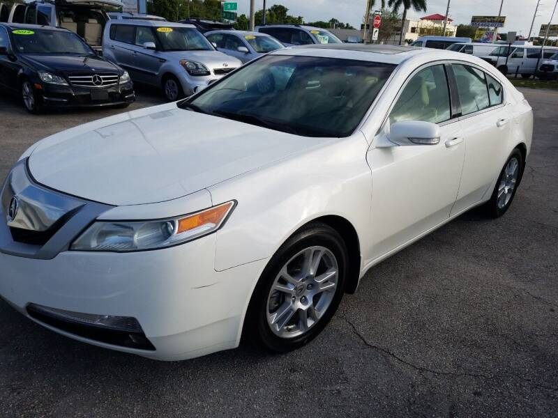 2009 Acura TL for sale at P S AUTO ENTERPRISES INC in Miramar FL