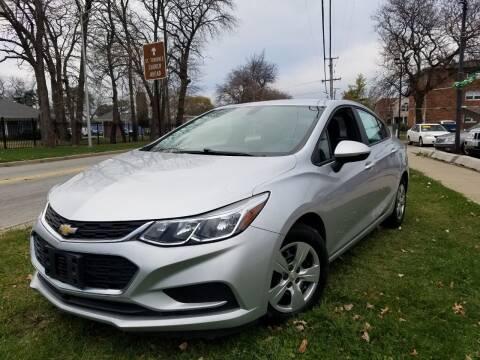 2017 Chevrolet Cruze for sale at RBM AUTO BROKERS in Alsip IL