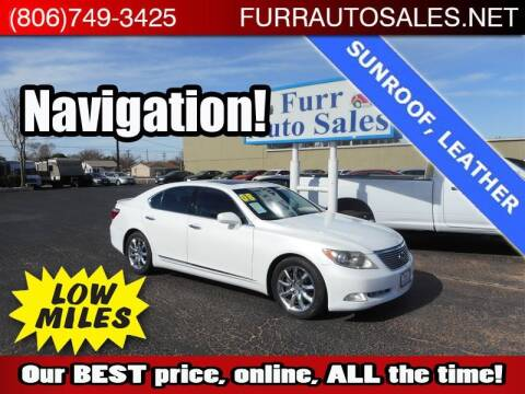 2008 Lexus LS 460 for sale at FURR AUTO SALES in Lubbock TX