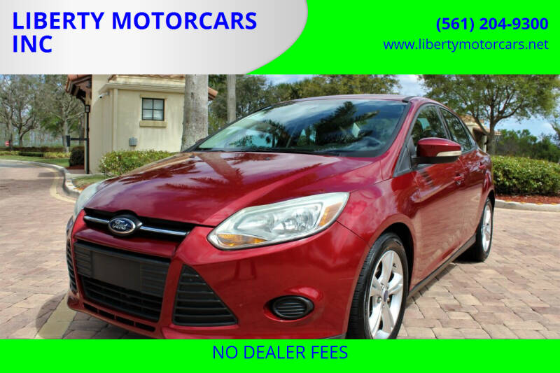 2014 Ford Focus for sale at LIBERTY MOTORCARS INC in Royal Palm Beach FL
