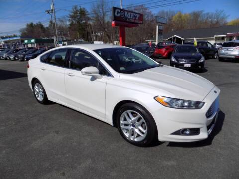 2014 Ford Fusion for sale at Comet Auto Sales in Manchester NH