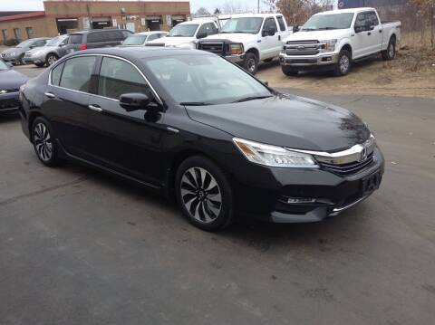 2017 Honda Accord Hybrid for sale at Bruns & Sons Auto in Plover WI