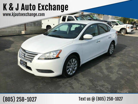 2014 Nissan Sentra for sale at K & J Auto Exchange in Santa Paula CA