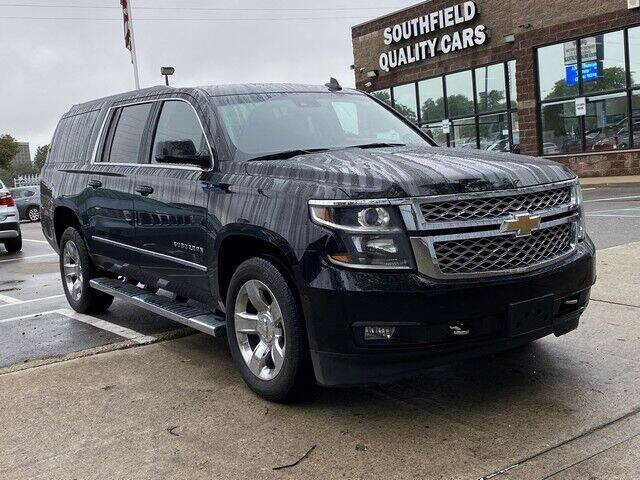 2017 Chevrolet Suburban for sale at SOUTHFIELD QUALITY CARS in Detroit MI