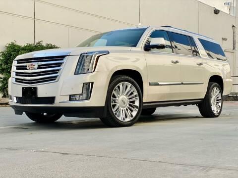 2015 Cadillac Escalade ESV for sale at New City Auto - Retail Inventory in South El Monte CA