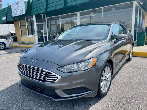 2017 Ford Fusion Hybrid for sale at Southeast Auto Inc in Walker LA