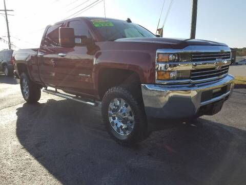 2015 Chevrolet Silverado 2500HD for sale at Moores Auto Sales in Greeneville TN