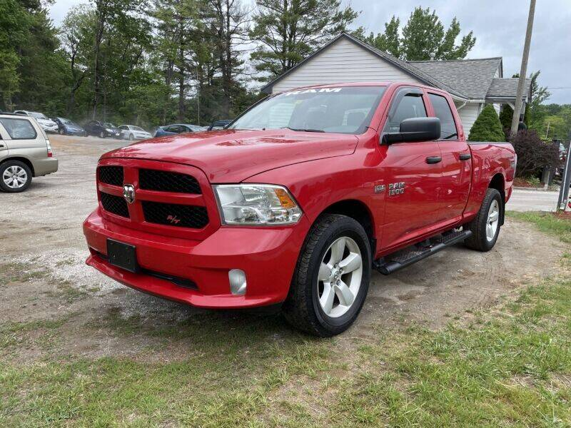 2014 RAM Ram Pickup 1500 for sale at Williston Economy Motors in Williston VT