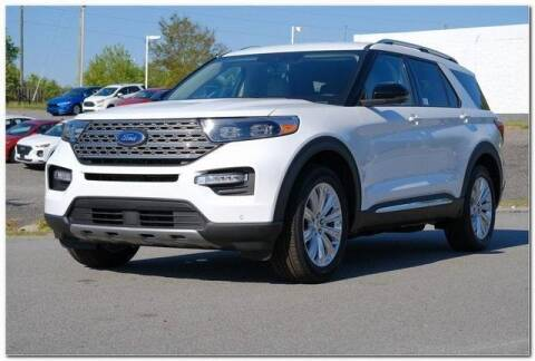 2020 Ford Explorer for sale at WHITE MOTORS INC in Roanoke Rapids NC