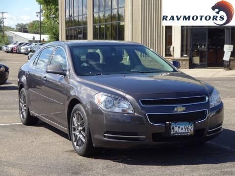 2011 Chevrolet Malibu for sale at RAVMOTORS 2 in Crystal MN
