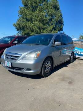 2006 Honda Odyssey for sale at M AND S CAR SALES LLC in Independence OR